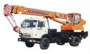 Автокран КС-45717К шасси КамАЗ (6х4)