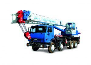 Автокран КС-55729-1В шасси КамАЗ-6540 (8х4) 32 тонн 31 м