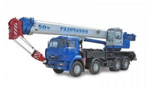 КС-65713-1 шасси КамАЗ-65201 (8х4) 50 тонн 34 м