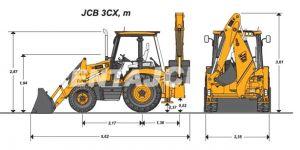 Экскаватор-погрузчик JCB-3CX Super  5,5 м 0,25 м3