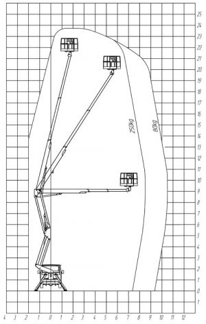 Автовышка Hyundai 28м пантограф