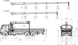 Манипулятор Shaanxi 7 тонн 21 метр